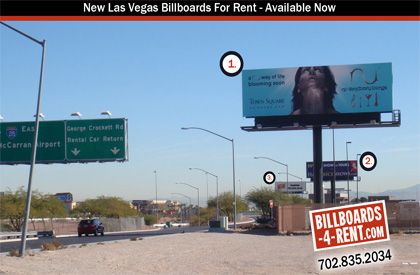Billboard rates in Las Vegas